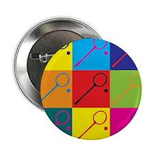 "Squash Pop Art 2.25"" Button"