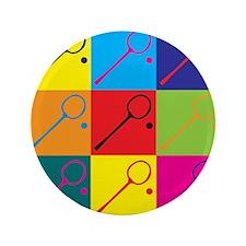 "Squash Pop Art 3.5"" Button"