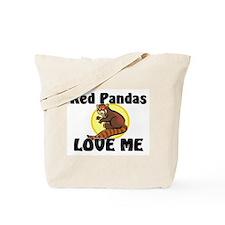 Red Pandas Love Me Tote Bag