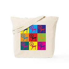 Spinning Pop Art Tote Bag