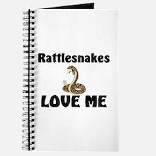 Rattlesnakes Love Me Journal