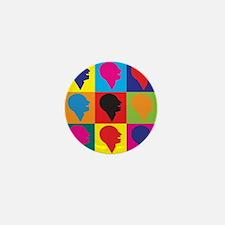 Speech-Language Pathology Pop Art Mini Button