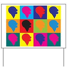 Speech-Language Pathology Pop Art Yard Sign