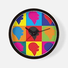 Speech Therapy Pop Art Wall Clock