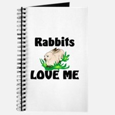 Rabbits Love Me Journal