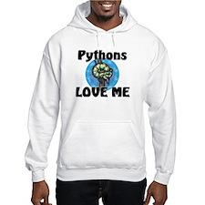 Pythons Love Me Hooded Sweatshirt