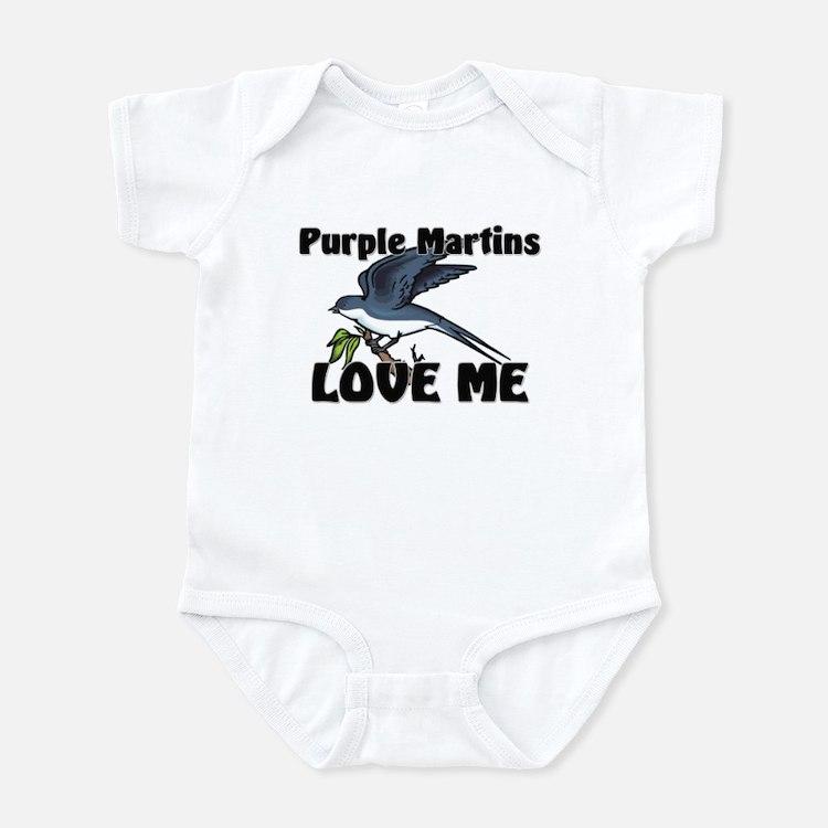 Purple Martins Love Me Infant Bodysuit