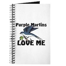 Purple Martins Love Me Journal