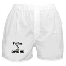 Puffins Love Me Boxer Shorts