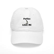 Puffins Love Me Baseball Cap