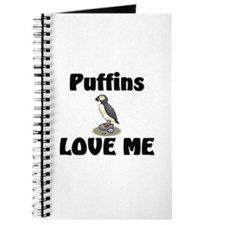 Puffins Love Me Journal