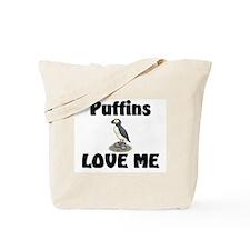 Puffins Love Me Tote Bag