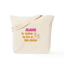 Alana - Big Sister To Be Tote Bag