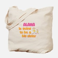 Alana - Big Sister To Be Tote Bag
