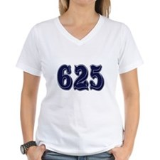 625 Womens V-Neck T-Shirt