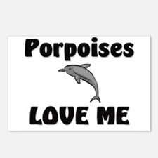 Porpoises Love Me Postcards (Package of 8)