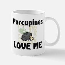 Porcupines Love Me Mug
