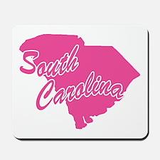 Pink South Carolina Mousepad