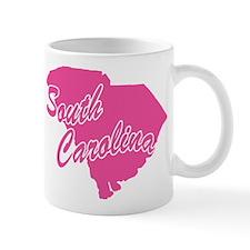Pink South Carolina Mug