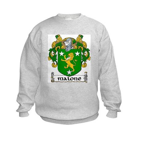 Malone Coat of Arms Kids Sweatshirt