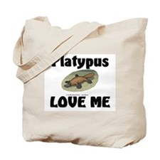 Platypus Love Me Tote Bag