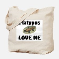 Platypus Love Me Tote Bag