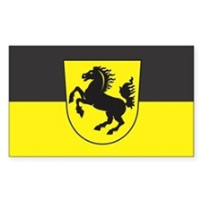 STUTTGART Rectangle Decal
