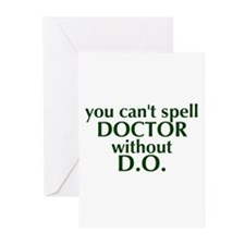 Osteopathic Greeting Cards (Pk of 10)