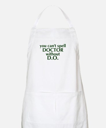 Osteopathic BBQ Apron - Green