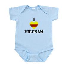 I Love Vietnam Infant Creeper