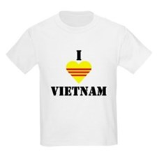I Love Vietnam Kids T-Shirt