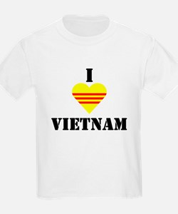 I Love Vietnam Kids T-Shirt