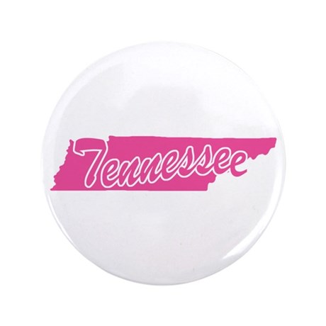 """Pink Tennessee 3.5"""" Button"""
