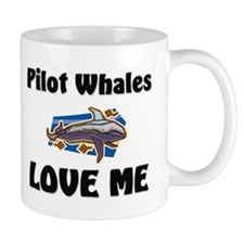 Pilot Whales Love Me Mug