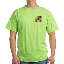 Shuffleboard Pop Art T-Shirt