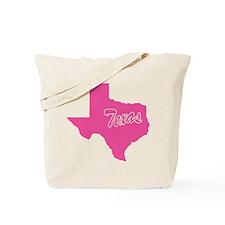 Pink Texas Tote Bag