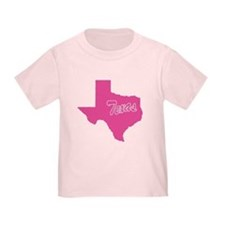 Pink Texas T