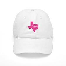 Pink Texas Baseball Cap