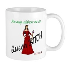 Queen Bitch -  Small Small Mug