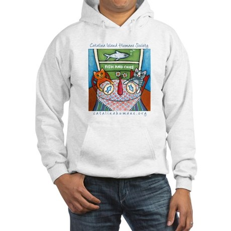 Dinner at Rosie's Hooded Sweatshirt
