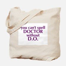 Osteopathic Tote Bag - Purple