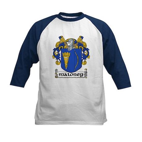 Maloney Coat of Arms Kids Baseball Jersey