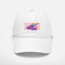 Purple Dragon Baseball Baseball Cap