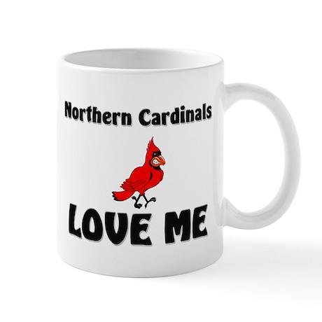 Northern Cardinals Love Me Mug