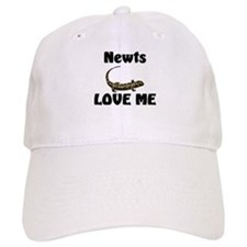 Newts Love Me Baseball Cap