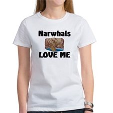Narwhals Love Me Tee