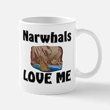 Narwhals Love Me Mug