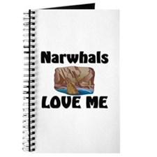 Narwhals Love Me Journal