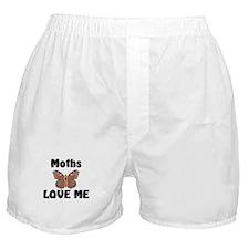 Moths Love Me Boxer Shorts