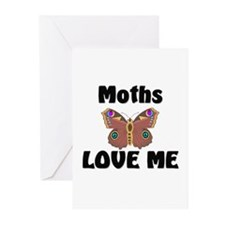 Moths Love Me Greeting Cards (Pk of 10)